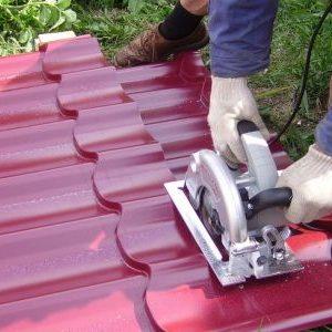 Чим краще різати металочерепицю: інструмент та прийоми