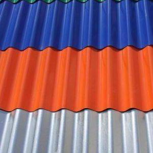 Гофролист для даху: кріплення, розміри і ціни