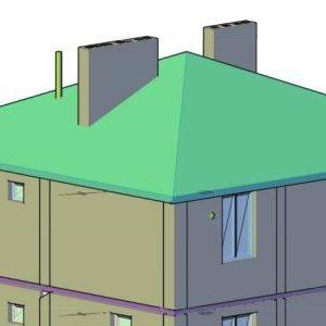 Кроквяна система чотирисхилого даху: пристрій, монтаж