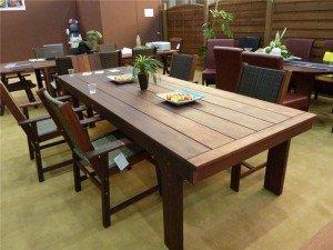 Большой обеденный стол своими руками 79