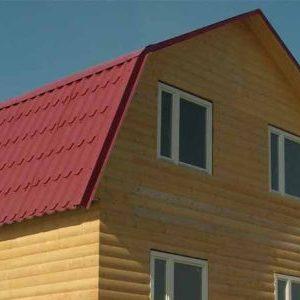 Кроквяна система мансардного даху: конструкція, розрахунок, фото