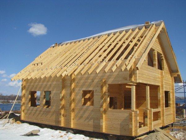 Строим деревянный дом из бруса своими руками 3