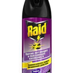 Рейд (Raid) від клопів: склад та інструкція по застосуванню