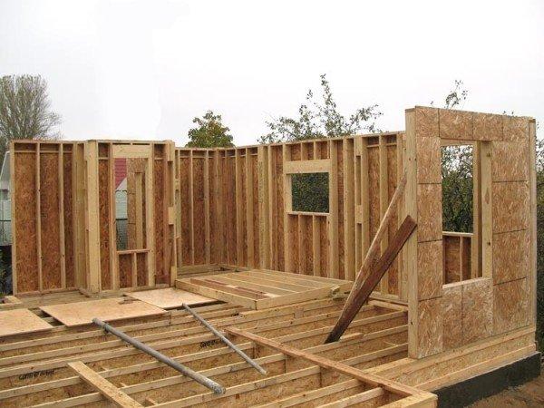 Как быстро построить каркасный дом своими руками 1