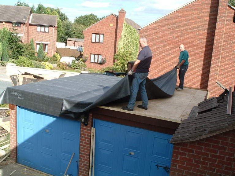 Ремонт крыши своими руками плоской 88