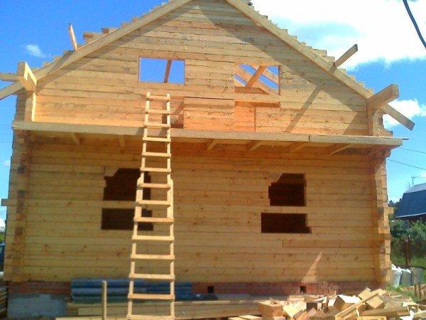 Дом из бруса своими руками проекты и цены