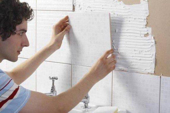 Выложить плитку в ванне своими руками