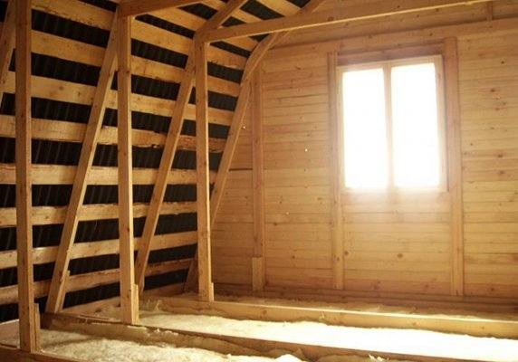 Как сделать второй этаж в деревянном доме своими руками 461