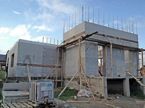 Строить монолитный дом своими руками 55