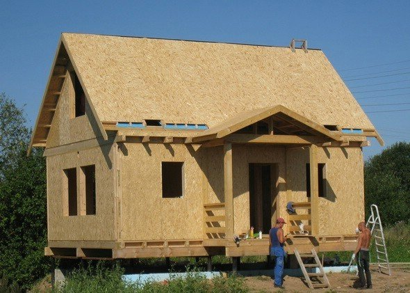 Щитовые дома для постоянного проживания своими руками