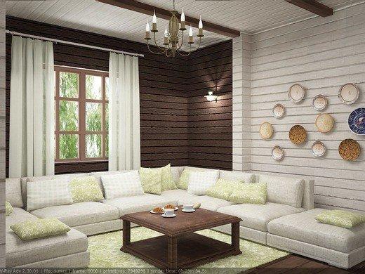 Дизайн деревянного дома в скандинавском стиле