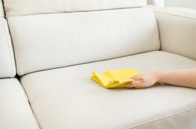 Вывести жирное пятно с дивана в домашних условиях 491