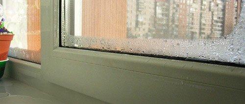 Конденсат на балконі: способи боротьби ремонт.