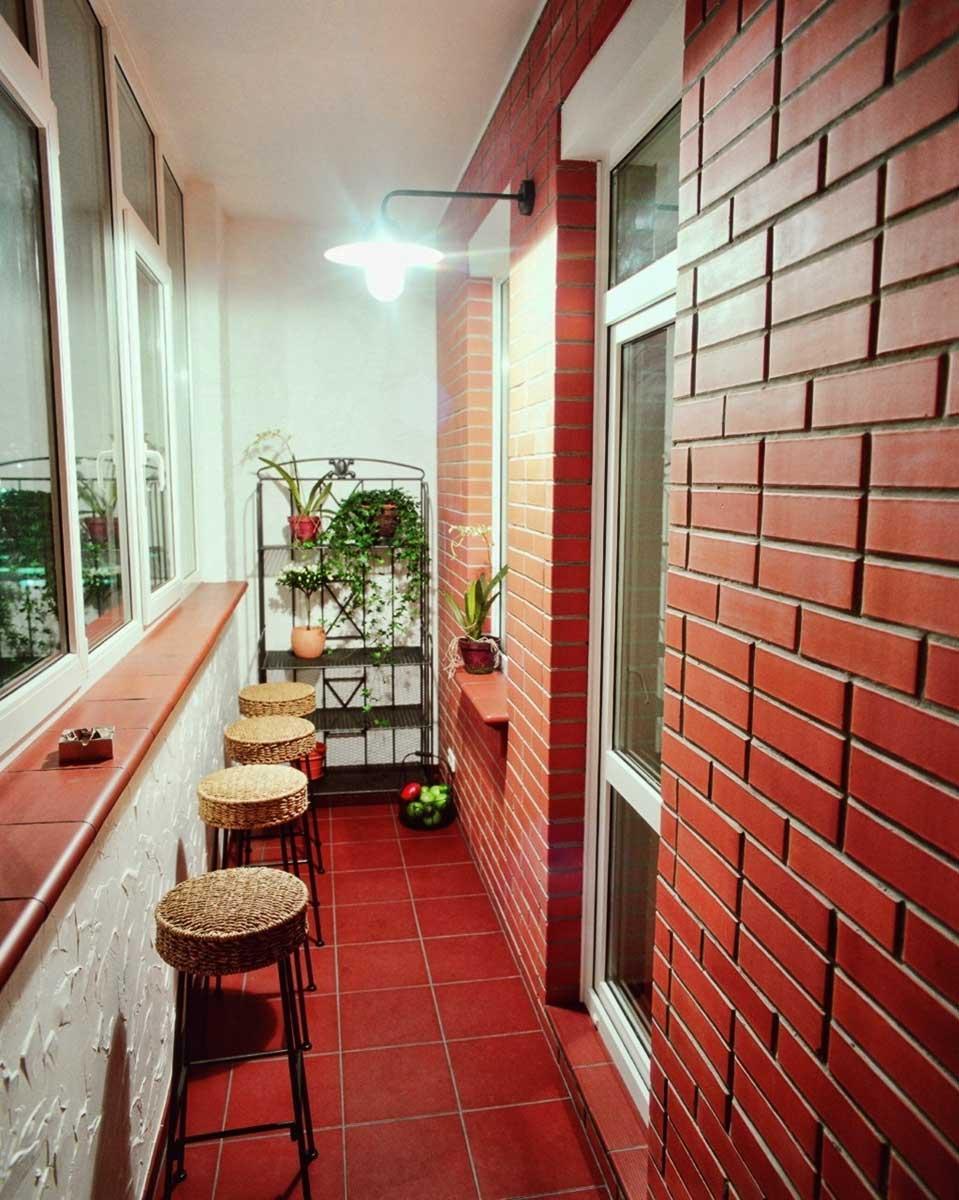 Отделка балкона внутри: фото-идеи оригинальных решений 23