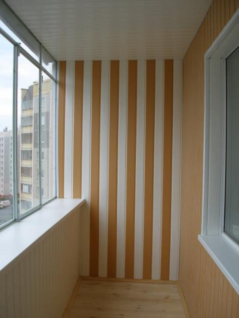 Пластиковые панели для балкона своими руками