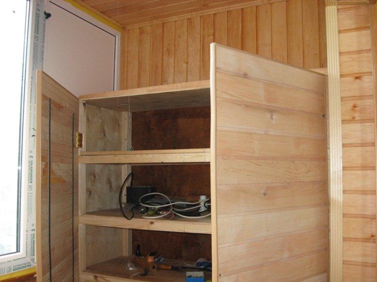 Меблі для балкона: як зробити або вибрати ремонт.