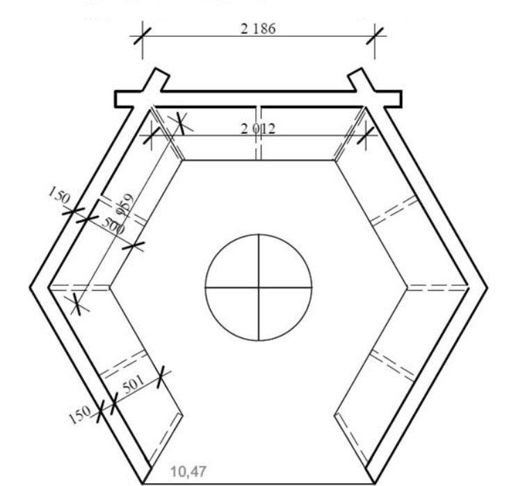 Шестиугольная беседка своими руками чертежи и размеры схемы и проекты