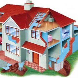 Фасадний пінополістирол: особливості монтажу