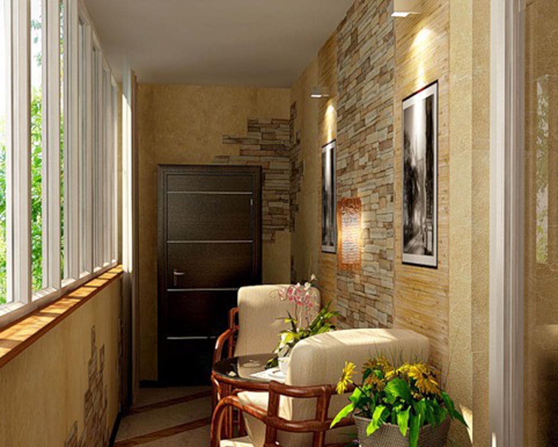 Балкон в квартире своими руками