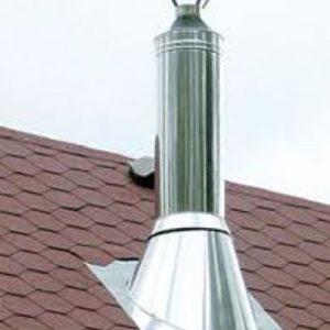Схема складання і установки димоходу з нержавіючої сендвіч труб: фото, відео