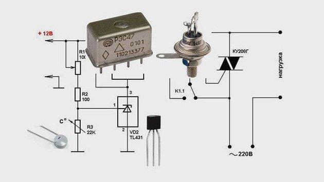 Простой терморегулятор для инкубатора своими руками 22