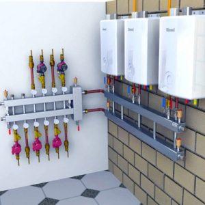 Розподільча гребінка для опалення, монтаж розподільного колектора системи опалення