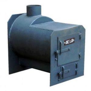 Пічка для гаража своїми руками на дровах і відпрацюванні: креслення, установка