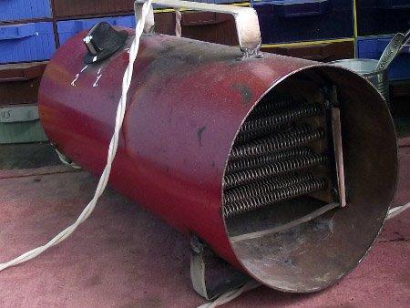 Водяной тепловентилятор своими руками для гаража 4