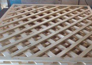 Как сделать деревянную обрешетку своими руками
