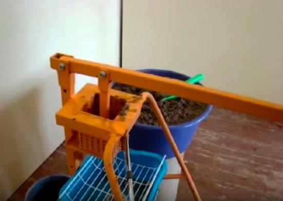 Изготовление топливных брикетов своими руками из опилок 65