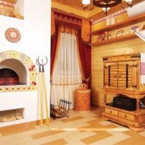 Способи оздоблення печі в приватному будинку: плиткою, декоративним каменем, склошпалерами