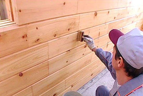 грунтовка для фасада деревянного дома несколько