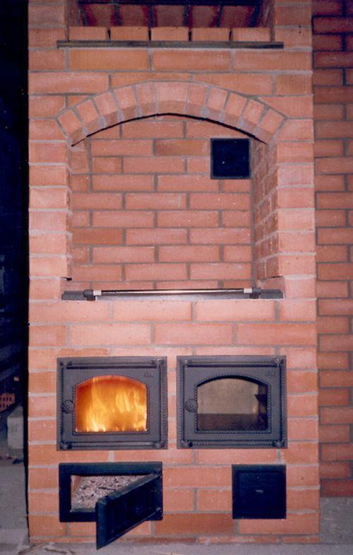 Кирпичные печи для дома с варочной плитой своими руками 12