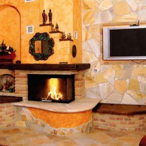 Вбудовані каміни в інтер'єрі будинку або квартири: фото ідеї