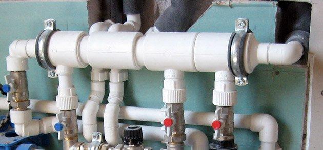 Расчет и монтаж отопления из полипропиленовых труб своими руками