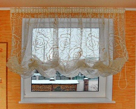 Римские шторы для кухни своими руками с фото 92