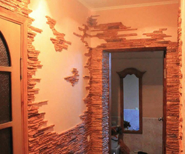 Стена магазин декоративные покрытия