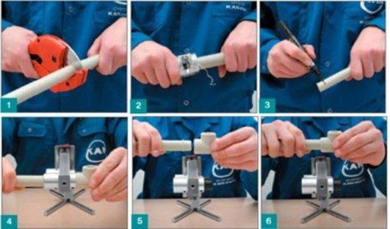 Сварка для полипропиленовых труб своими руками 699