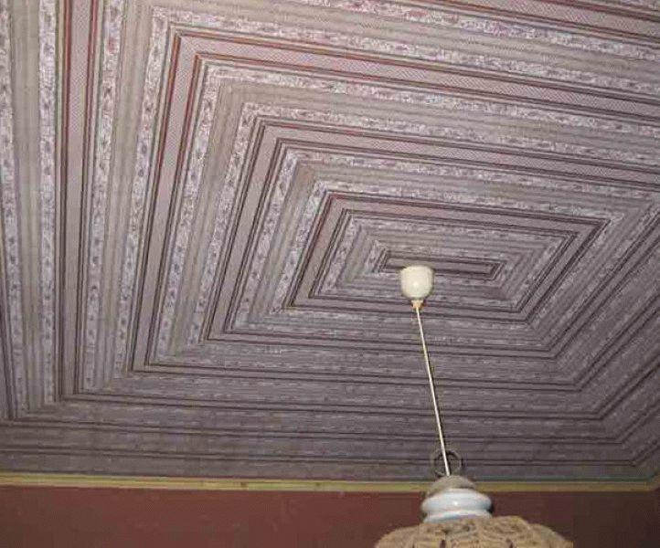 Идеи для потолка своими руками 492
