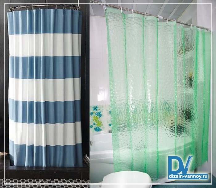 Как сделать штору в ванною