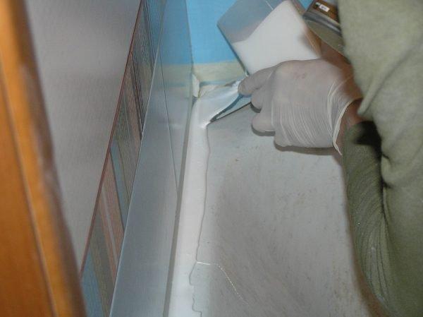 Как своими руками восстановить ванну 85