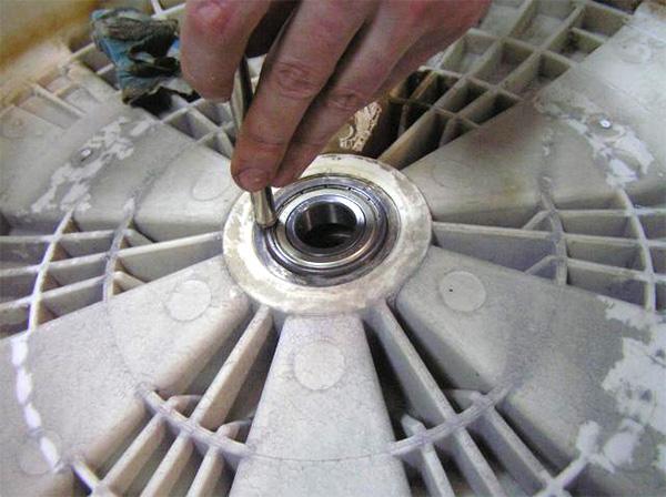 Стиральные машины lg ремонт своими руками замена подшипника 45
