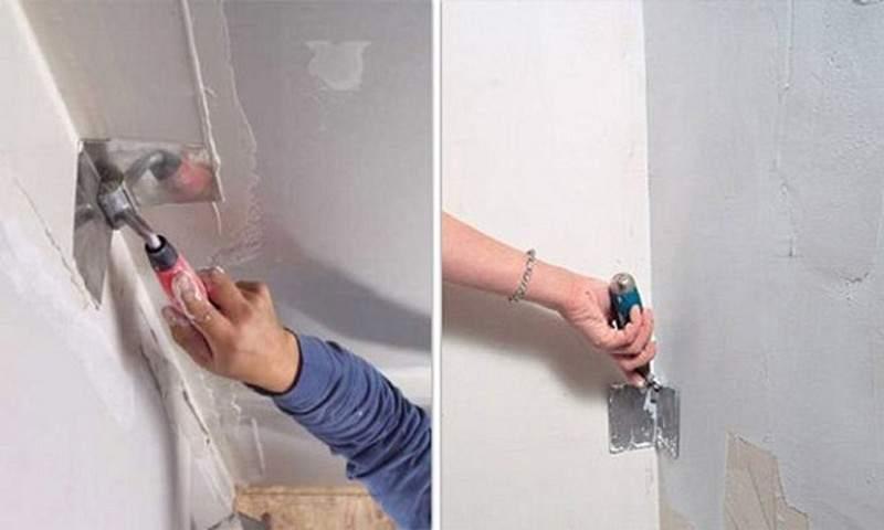 Выровнять стены шпаклевкой своими руками 651