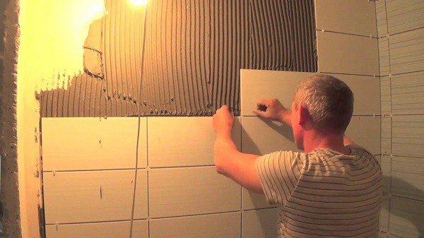 Плитка для ванной комнаты укладка своими руками 20