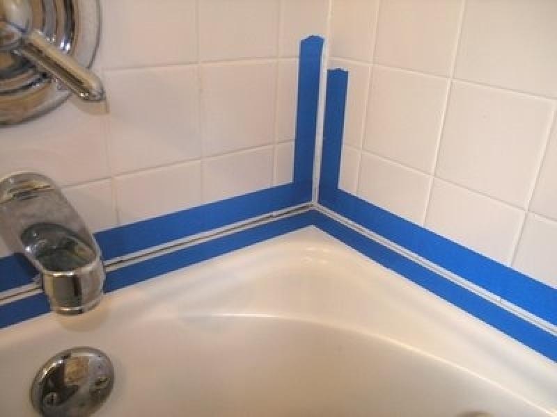 Керамический плинтус для ванной своими руками 8
