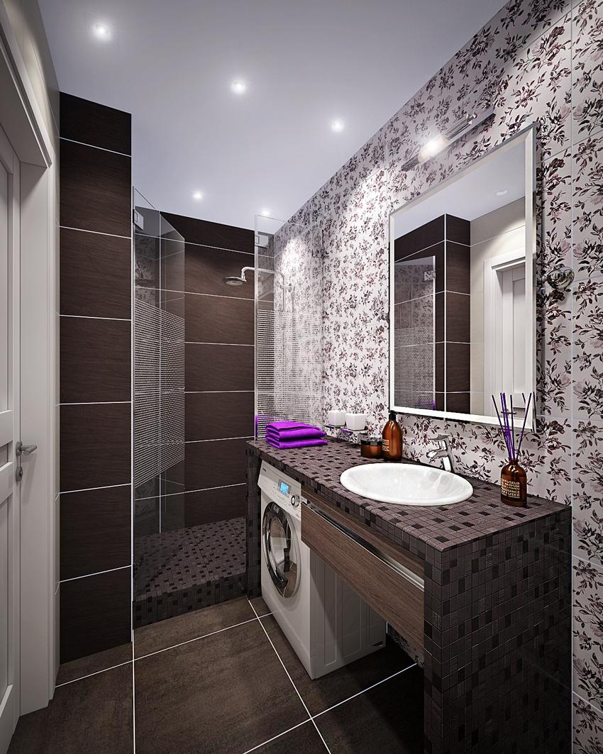 Дизайн ванные комнаты 3м2
