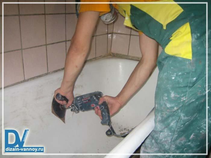 Как восстановить ванную своими руками