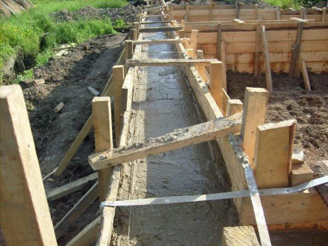 Как построить дом своими руками залить фундамент 57