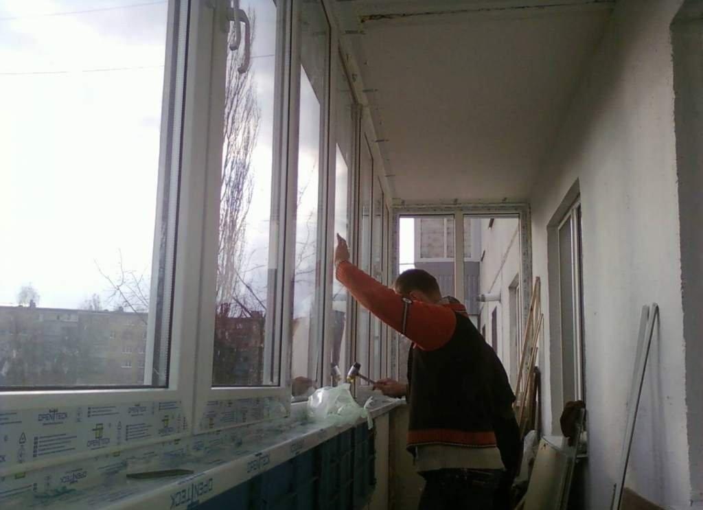Установка балкона своими руками 521