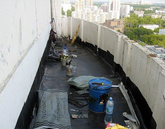 Утепление балконов и лоджий, фото готовых работ, материалы д.